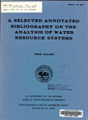 A Selected Annotated Bibliography On The Analysis Of Water Resource Systems