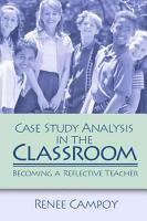 Case Study Analysis in the Classroom PDF