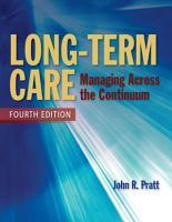 Long Term Care PDF