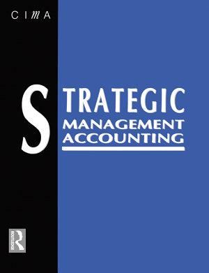 Strategic Management Accounting PDF