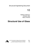 Structural Use of Glass PDF