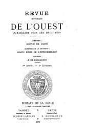 Revue historique de l'Ouest