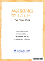 Walking by Faith PDF