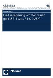 Die Privilegierung von Konzernen gem        1 Abs  3 Nr  2 A  G PDF