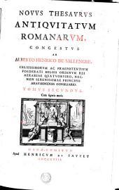 NOVVS THESAVRVS ANTIQVITATVM ROMANARVM: Volume 2