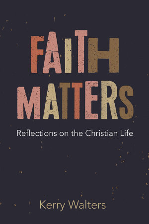 Faith Matters PDF