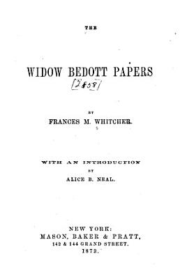 The Widow Bedott Papers
