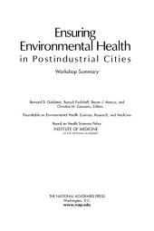 Ensuring Environmental Health in Postindustrial Cities