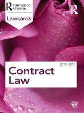 Contract Lawcards 2012-2013: Edition 8