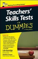 Teacher s Skills Tests For Dummies PDF