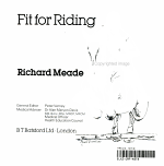 Fit for Riding