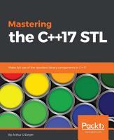 Mastering the C  17 STL PDF
