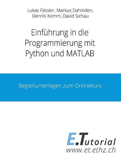 Programmieren mit Python und Matlab PDF