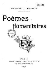 Poèmes humanitaires