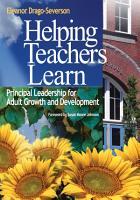 Helping Teachers Learn PDF
