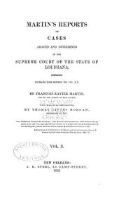 Reports of Cases Argued and Determined in the Supreme Court of Louisiana: Volume 20, Issue 20