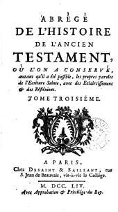Abrégé de l'histoire (et de la morale) de l'Ancien Testament [by F.P. Mésenguy].