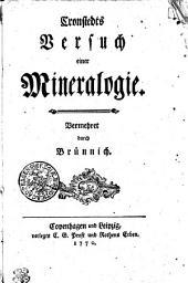 Cronstedts Versuch einer Mineralogie