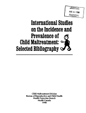 International Studies on the Incidence and Prevalence of Child Maltreatment PDF