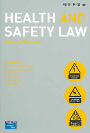 Health and Safety Law PDF