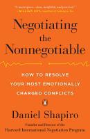 Negotiating the Nonnegotiable PDF