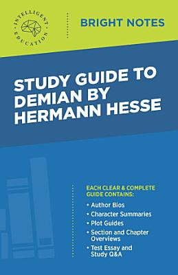 Study Guide to Demian by Hermann Hesse PDF