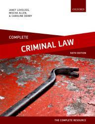 Complete Criminal Law Book PDF