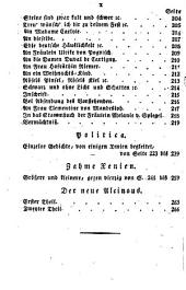 Goethes Werke: Vollstandige Ausgabe letzter Hand, Band 47