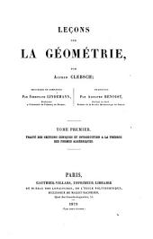 Traité des sections coniques et introduction a la théorie des formes algébriques
