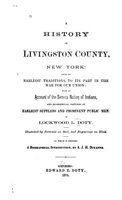 A History Of Livingston County New York