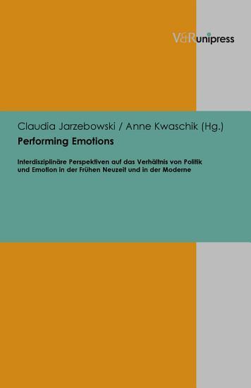 Performing emotions PDF