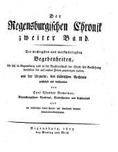 Die Regensburgische Chronik: Band 2