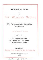 The poetical works of sir Walter Scott. With prefatory notice by W. Sharp: Volume 2
