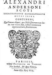 Exercitationes mathematicae: decas I.