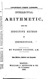 Colburn's First Lessons: Intellectual Arithmetic ...