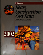 Means Heavy Construction Cost Data 2002