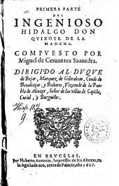 El ingenioso hidalgo Don Quixote de la Mancha: Primera
