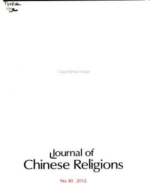 Journal of Chinese Religions