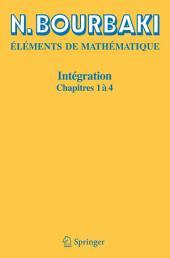 Intégration: Chapitres 1 à 4, Parties1à4
