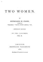 Two Women: Volume 2
