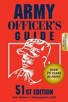 Army Officer s Guide PDF