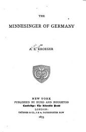 The Minnesinger of Germany