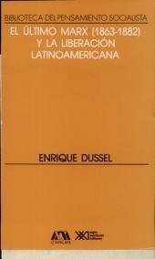 """El último Marx (1863-1882) y la liberación latinoamericana: un comentario a la tercera y a la cuarta redacción de """"El capital"""""""