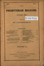 The Presbyterian Magazine: Volume 9, Issue 1