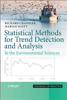 Statistical Methods for Trend Detection and Analysis in the Environmental Sciences PDF