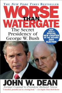Worse Than Watergate Book