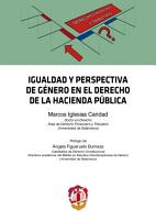 Igualdad y perspectiva de g  nero en el Derecho de la Hacienda P  blica PDF