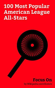 Focus On  100 Most Popular American League All Stars PDF