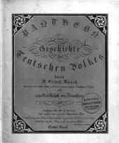 Pantheon der Geschichte des teutschen Volkes durch - und eine Gesellschaft von Künstlern