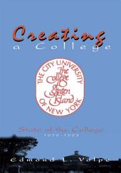 Creating a College: State of the College 1976-1993